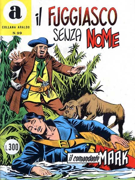 il Comandante Mark collana Araldo copertina numero 99