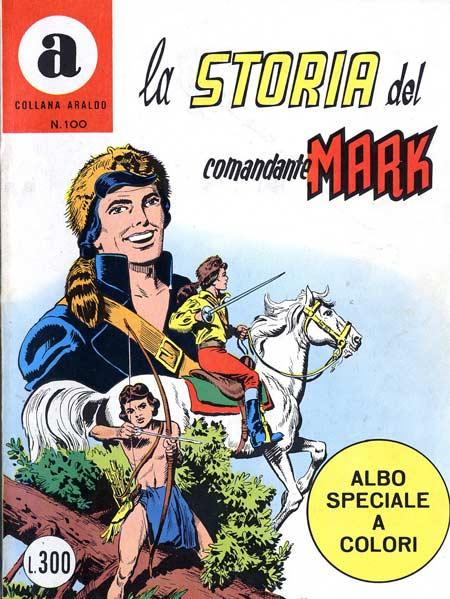 il Comandante Mark collana Araldo copertina numero 100