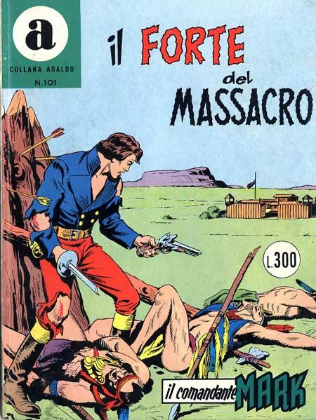 il Comandante Mark collana Araldo copertina numero 101