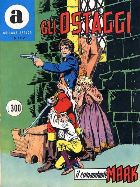 il Comandante Mark collana Araldo copertina numero 102