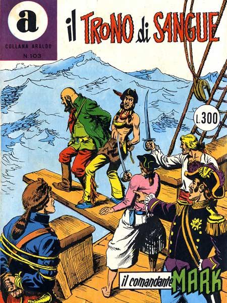 il Comandante Mark collana Araldo copertina numero 103