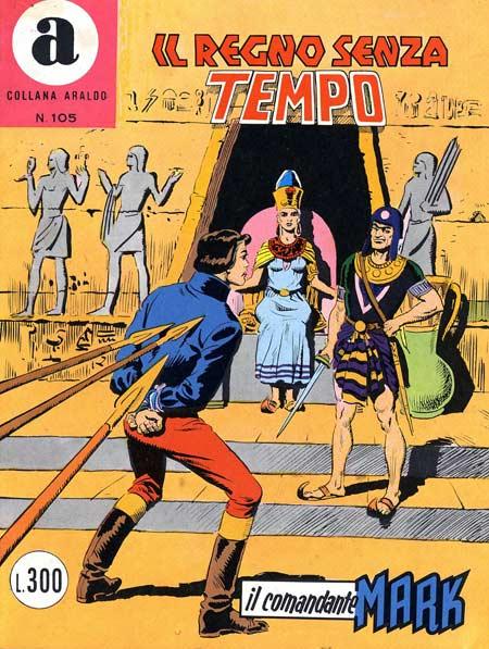 il Comandante Mark collana Araldo copertina numero 105