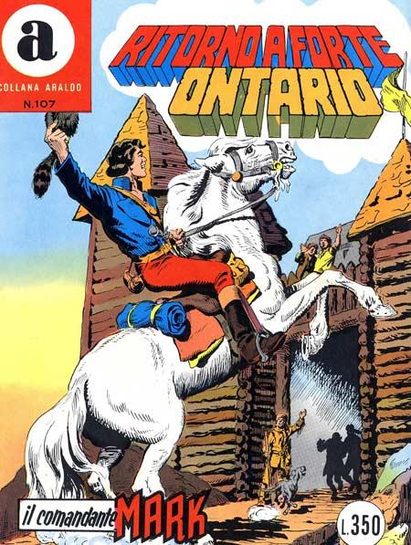 il Comandante Mark collana Araldo copertina numero 107