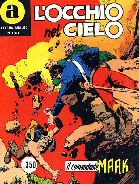 il Comandante Mark collana Araldo copertina numero 108
