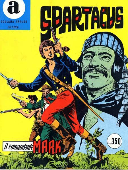 il Comandante Mark collana Araldo copertina numero 109