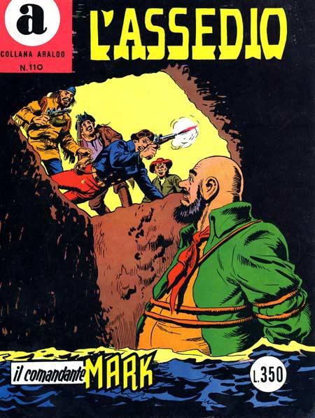il Comandante Mark collana Araldo copertina numero 110