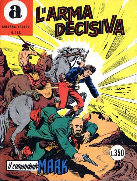 il Comandante Mark collana Araldo copertina numero 112