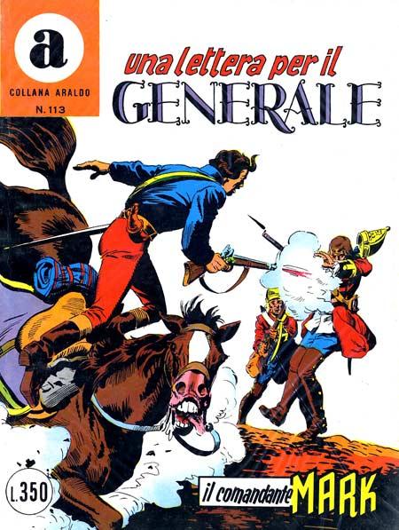 il Comandante Mark collana Araldo copertina numero 113