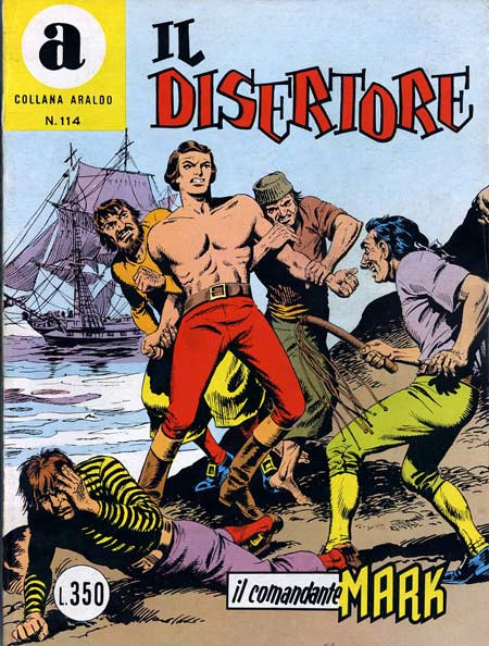 il Comandante Mark collana Araldo copertina numero 114