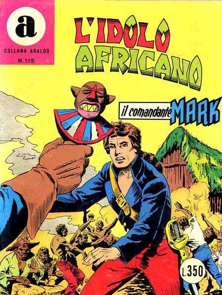 il Comandante Mark collana Araldo copertina numero 115