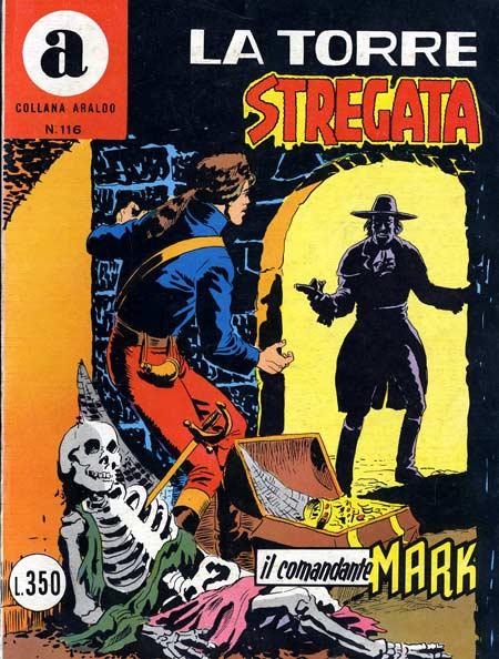 il Comandante Mark collana Araldo copertina numero 116