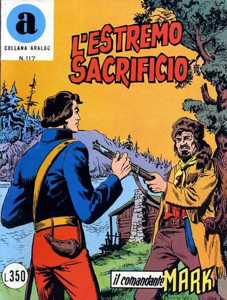 il Comandante Mark collana Araldo copertina numero 117