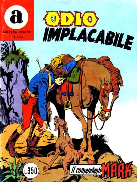 il Comandante Mark collana Araldo copertina numero 118