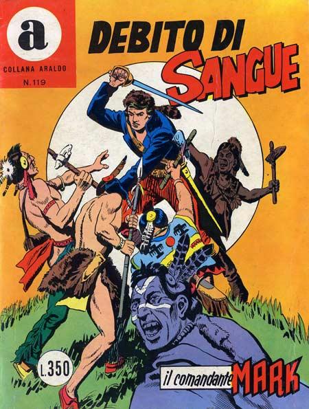 il Comandante Mark collana Araldo copertina numero 119