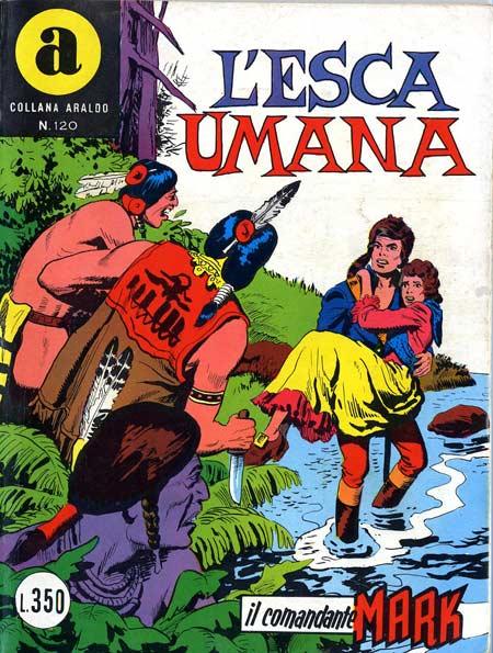il Comandante Mark collana Araldo copertina numero 120