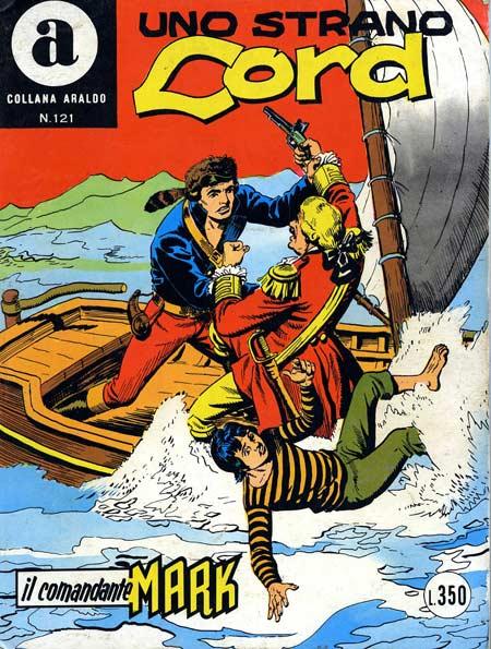 il Comandante Mark collana Araldo copertina numero 121