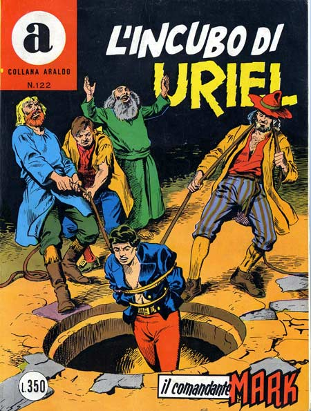 il Comandante Mark collana Araldo copertina numero 122