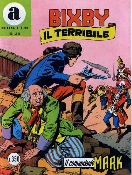 il Comandante Mark collana Araldo copertina numero 123