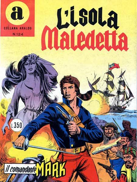 il Comandante Mark collana Araldo copertina numero 124