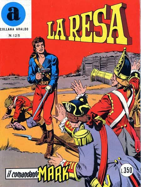 il Comandante Mark collana Araldo copertina numero 125
