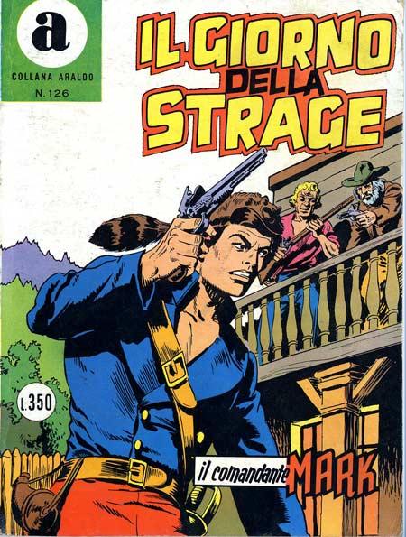 il Comandante Mark collana Araldo copertina numero 126