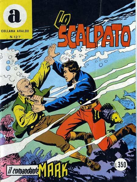 il Comandante Mark collana Araldo copertina numero 127