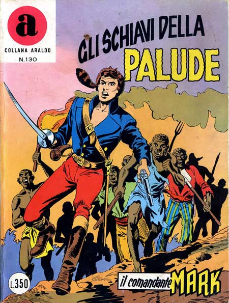 il Comandante Mark collana Araldo copertina numero 130