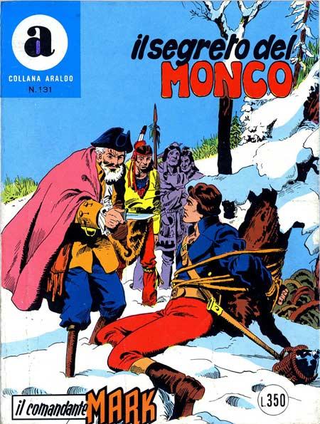 il Comandante Mark collana Araldo copertina numero 131
