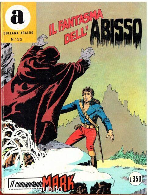 il Comandante Mark collana Araldo copertina numero 132