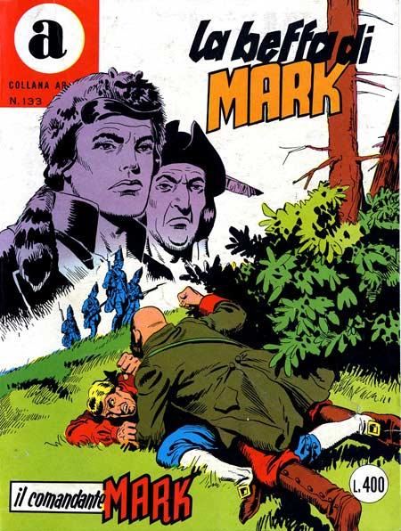 il Comandante Mark collana Araldo copertina numero 133