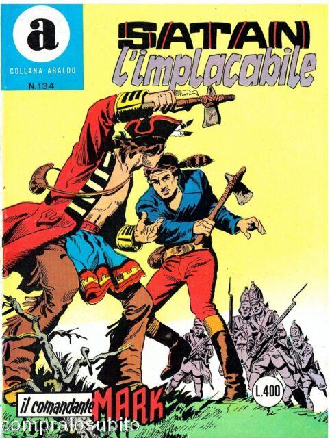 il Comandante Mark collana Araldo copertina numero 134