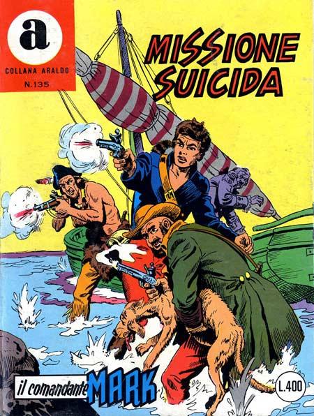 il Comandante Mark collana Araldo copertina numero 135