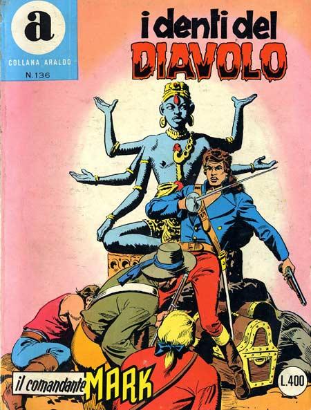 il Comandante Mark collana Araldo copertina numero 136