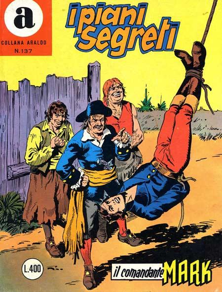 il Comandante Mark collana Araldo copertina numero 137