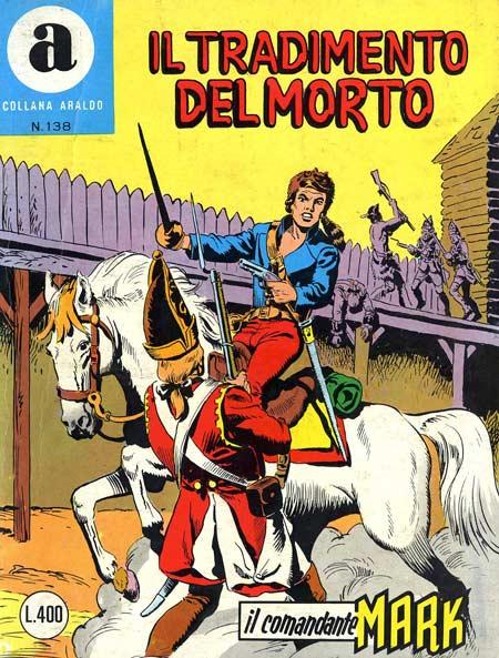 il Comandante Mark collana Araldo copertina numero 138