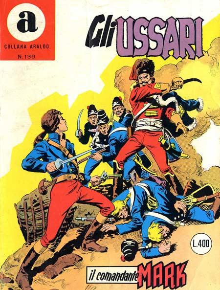 il Comandante Mark collana Araldo copertina numero 139