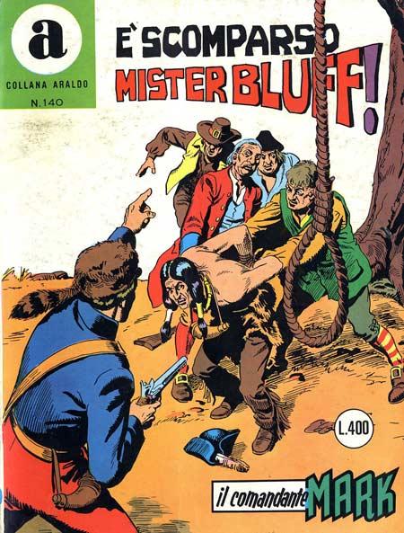il Comandante Mark collana Araldo copertina numero 140