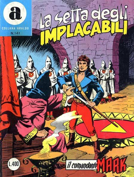 il Comandante Mark collana Araldo copertina numero 141