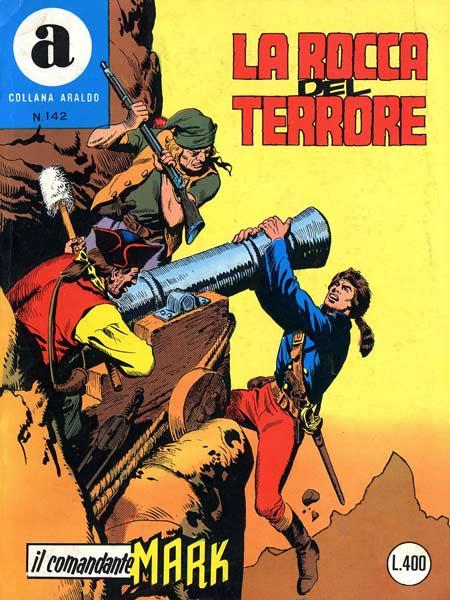il Comandante Mark collana Araldo copertina numero 142