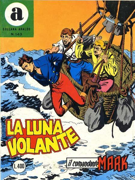 il Comandante Mark collana Araldo copertina numero 143