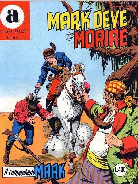 il Comandante Mark collana Araldo copertina numero 144