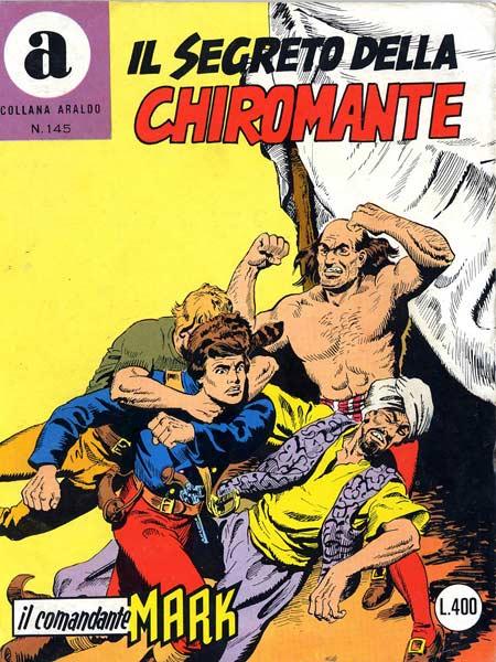 il Comandante Mark collana Araldo copertina numero 145