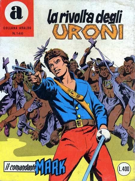 il Comandante Mark collana Araldo copertina numero 146