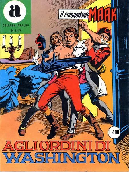 il Comandante Mark collana Araldo copertina numero 147