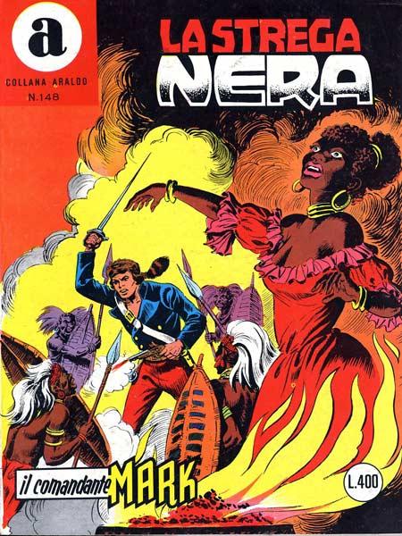 il Comandante Mark collana Araldo copertina numero 148