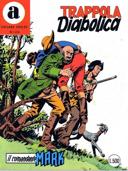 il Comandante Mark collana Araldo copertina numero 149