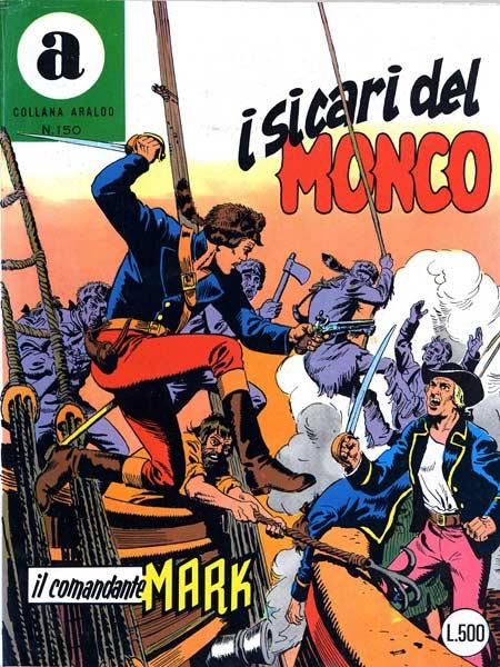 il Comandante Mark collana Araldo copertina numero 150