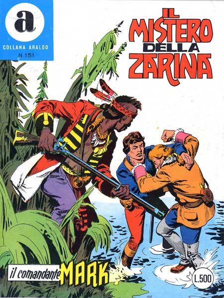 il Comandante Mark collana Araldo copertina numero 151