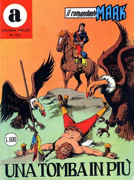 il Comandante Mark collana Araldo copertina numero 152