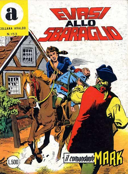 il Comandante Mark collana Araldo copertina numero 153